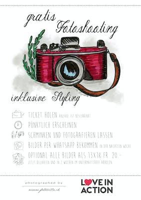 Foto-Shooting für die Nachbarschaft - Bern